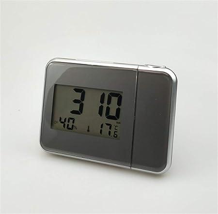 XZYP Radio Despertador Proyector, Creativo Moda Despertador, Reloj ...