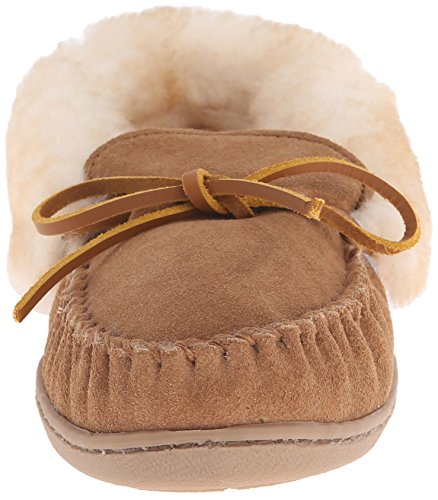 Pantofole Moc tantan Minnetonka Donna Sheepskin Beige Alpine A7wz8xEtq