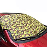 LPY-Windshield Snow Cover, Frost Screen Cover Wind Screen Frost and Ice Protector,Ice Sun Frost and Wind Proof in All Weather 145 x 99 cm