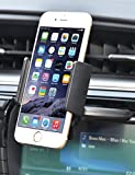 Bestrix Universal CD Slot Smartphone Car Mount Holder for iPhone 6, 6S Plus 5S, 5C, 5, 4S, 4, Samsung Galaxy S3 S4 S5 S6 S7 S8 Edge/Plus Note 2 3 4 5 LG G3 G4 G5 G6 all smartphones up to 57