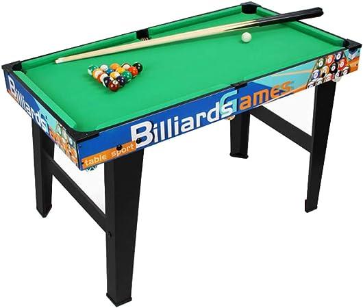 Mesa de Juegos para niños, Billar Mini Table, Billar con Taco de Madera y 16 Bolas, 1 Cepillo y Tiza: Amazon.es: Hogar