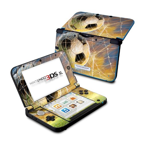 Football Atomic (Soccer - DecalGirl Sticker Wrap Skin Compatible with Nintendo Original 3DS XL)