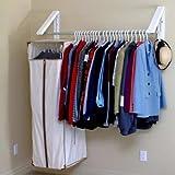 Generic e War Rack Holder be Ga Organizer Stand ent O Hanger Closet Garme Clothes Storage et Clothes Wardrobe Garment oset Clothe