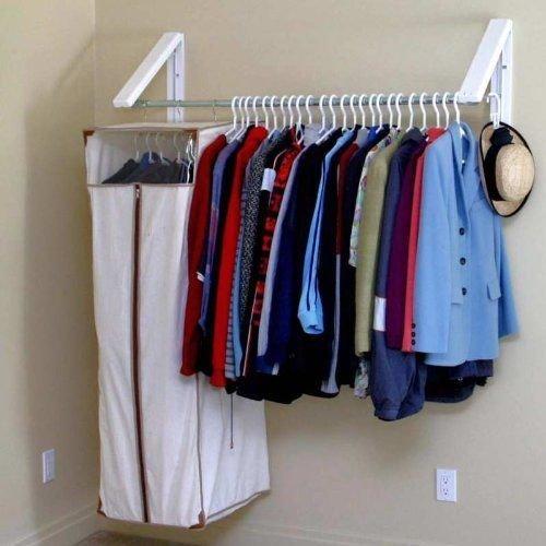 Generic orage Rack Holder Garment O Organizer Stand zer S Hanger Closet orage W Clothes Storage set Clo Wardrobe Garment r Clo