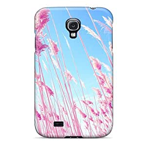 DaMMeke Snap On Hard Case Cover Beach Grass Protector For Galaxy S4