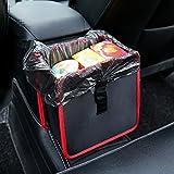 Lenmumu Car Trash Bag Can, Premium Leakproof Litter Garbage Bag for Travel, Reusable and Washable