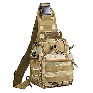 ATAIRSOFT Multi Colors Outdoor Tactical Molle Sling Pack Chest Pack