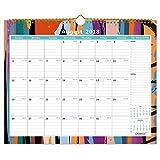 """Cabbrix August 2018 - December 2019 Monthly Wall Calendar, 15""""x12"""", Wirebound"""