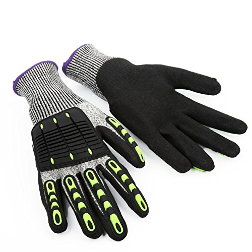 Simlife Outdoor Cycling Full Finger Gloves Bike/Bicycle Gloves Cut Resistant,Shock-Absorbing,Anti-Slip...