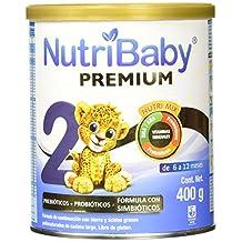 Nutribaby Premium Etapa 2 Formula para Lactantes en Polvo para 6-12 Meses, 400 g