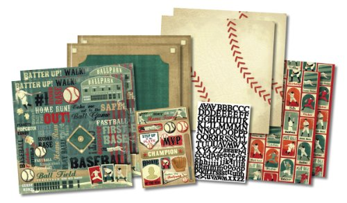 Karen Foster Design Scrapbook Kit, Rookie of the Year, 12 x ()
