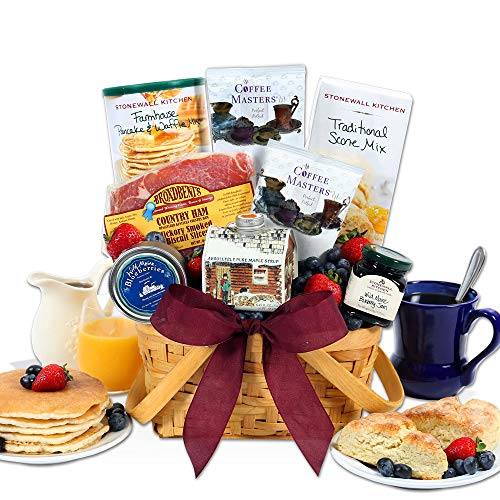 Gift Ham - Christmas Morning Breakfast Gift BasketTM