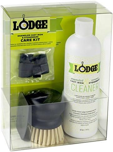 Lodge Enameled Ceramic Stoneware Acrylic