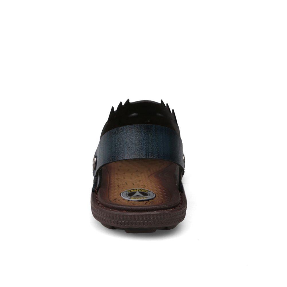 HUAN Men's Shoes Summer Sandals Light Soles Comfort Shoes Sandals Walking Shoes Comfort Casual Office & Brown 41 B B07BK561MH ded775