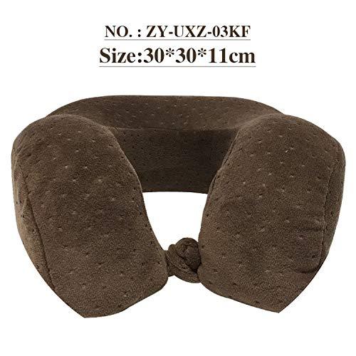 U Pillow Health Care Health Travel Neck Pillow Memory Cotton Can Rebound Car Pillow Siesta Rest Headrest 1 PCS,ZY-UXZ-03KF,