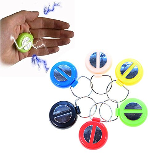 Bluelans Hand Buzzer Electric Shock Prank Toy Funny Novelty Shocking Joke Prank Toy