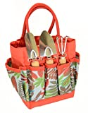 Bo Toys and Gifts Kids Garden Tool Set with Tote