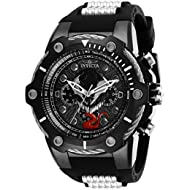 Men's 'Marvel' Quartz Stainless Steel and Silicone Watch, Color:Two Tone (Model: 29055)
