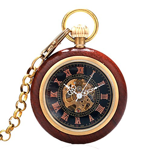 Gold Face Pocket Watch - 3