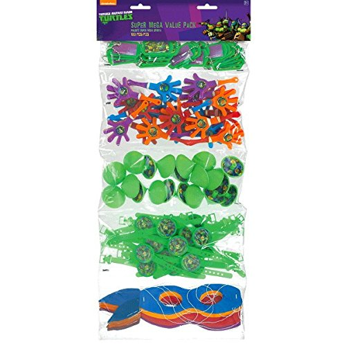 amscan Teenage Mutant Ninja TurtlesParty Supplies | Party Favor | Pack of 100 -