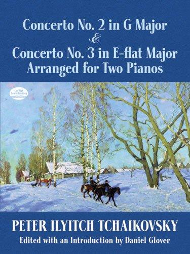 Concerto No. 2 in G Major & Concerto No. 3 in E-flat Major Arranged for Two Pianos (Dover Music for ()