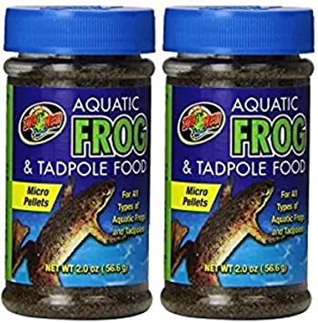 Zoo Med Aquatic Frog and Tadpole Food, 2-Ounce ZM16