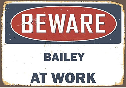 Any and All Graphics Rustic look beware BAILEY at work 6