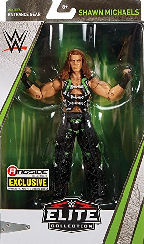 WWE DX Shawn Michaels Elite Ringside Exclusive Mattel Toy Wrestling Action Figure by WWE