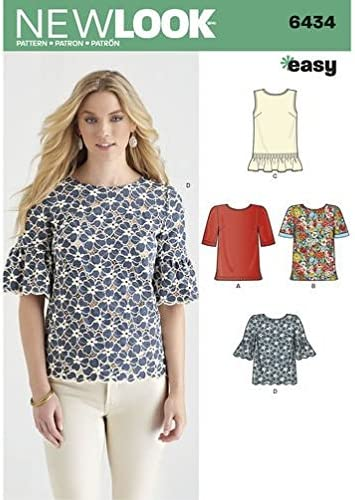 New Look Sewing Pattern 6921 Misses Sportswear 8-10-12-14-16-18 Size A