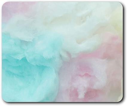 Cómoda alfombrilla de ratón - Algodón algodón de azúcar nubes 23.5 ...