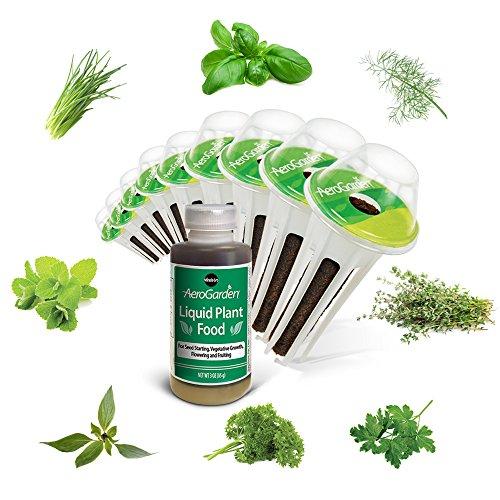 Miracle-Gro AeroGarden Gourmet Herb Seed Pod Kit (9-Pod)