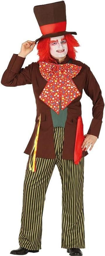 FIESTAS GUIRCA Disfraz de Sombrerero Loco para Hombre.: Amazon.es ...