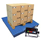 PEC Scales Steel Floor Scale, Accurate Pallet Scale