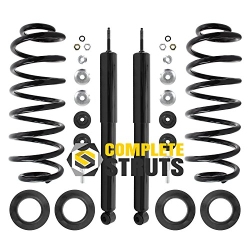 1990-2002 Lincoln Town Car Rear Complete Air to Struts / Shocks & Springs Conversion Kit (Pair)