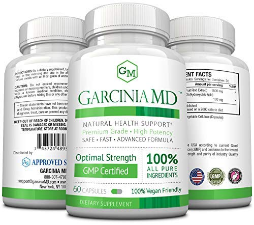 Garcinia MD - 3 Bottles by Approved Science (Image #2)