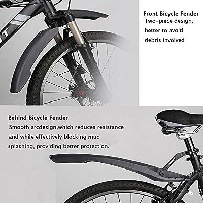 Front Rear Mudguard Fender Tire Mud Rain Guards Mountain Bike Attachment Durable