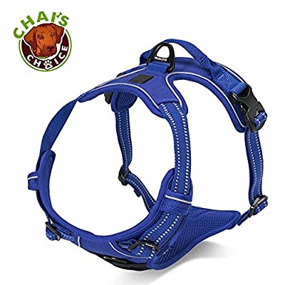 "Chai's Choice Pet Products 27""-32"" Best Front Range No-Pull Dog Harness"