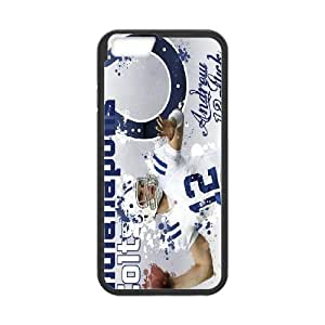 Custom Andrew Luck Protective Phone Case For Apple Iphone 6 Plus 5.5 inch screen Cases High Quality PC Cover CASE-6