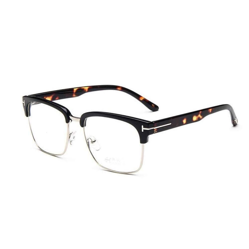 c912192dac Lentes YMTP Marco De Gafas De Ojo De Mujer para Hombre Vintage Metal T  Square Diseño ...