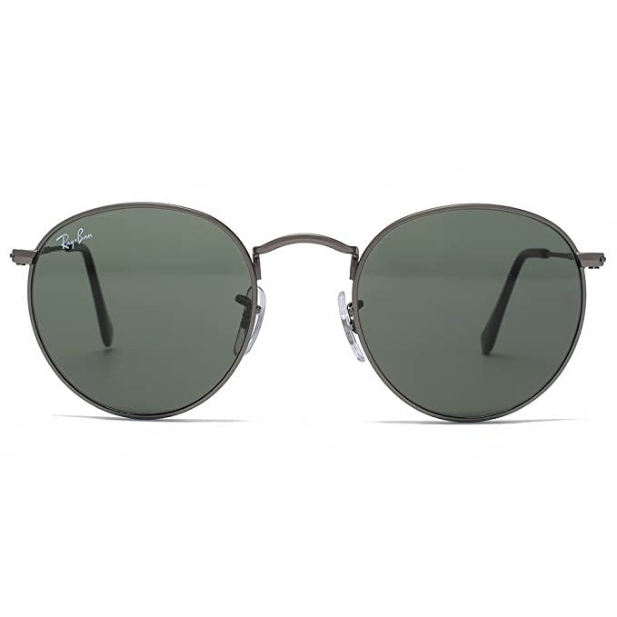 8b7b007a89cf2 Ray-Ban Turno Metal Occhiali Da Sole In Cristallo Canna Di Fucile Opaco  Verde Rb3447 029 47  Amazon.it  Abbigliamento