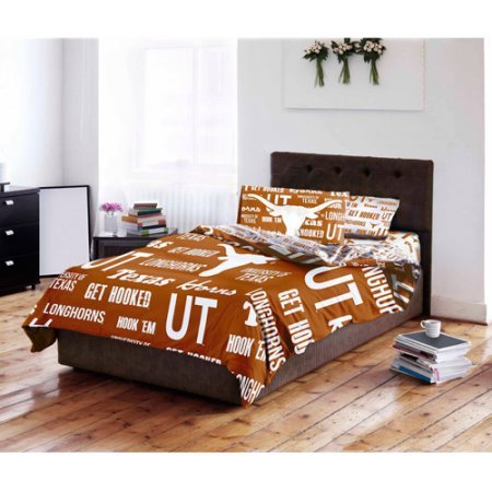(NCAA University of Texas Longhorns Bed in a Bag Complete Bedding Set (Full))