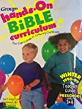 img - for Group Hands-on Bible Curriculum: The Curriculum of Growing Churches: Preschool Ages 3-4 book / textbook / text book