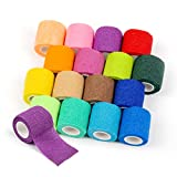 Product review for Para-wish 16pcs Disposable Cohesive Tattoo Grip Cover Wrap, Self Grip Roll Elastic Bandage Handle Grip Tube