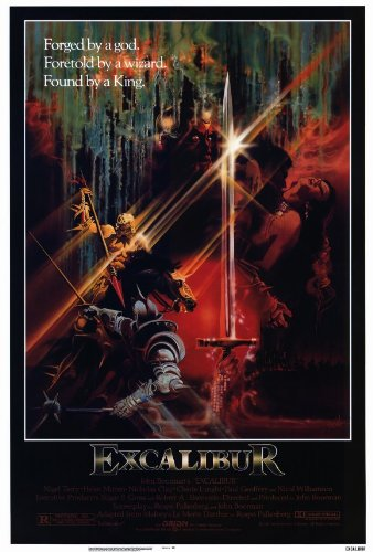Excalibur 27x40 Movie Poster