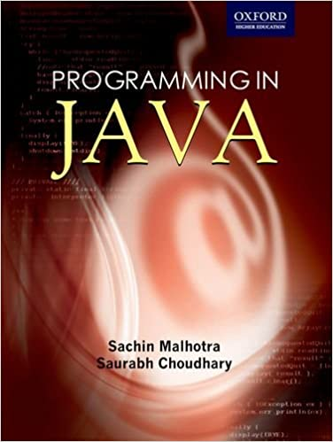 programming in java second edition sachin malhotra saurabh choudhary