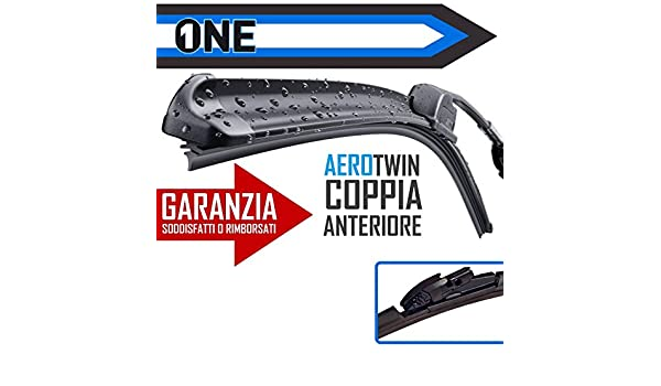 KIT 2 ESCOBILLAS LIMPIAPARABRISAS ONE AEROTWIN CITROEN BERLINGO-DELANTERA: Amazon.es: Coche y moto