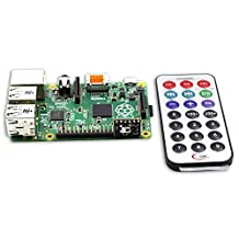 SunFounder Media Remote Control With IR Receiver Module Kit For Raspberry Pi
