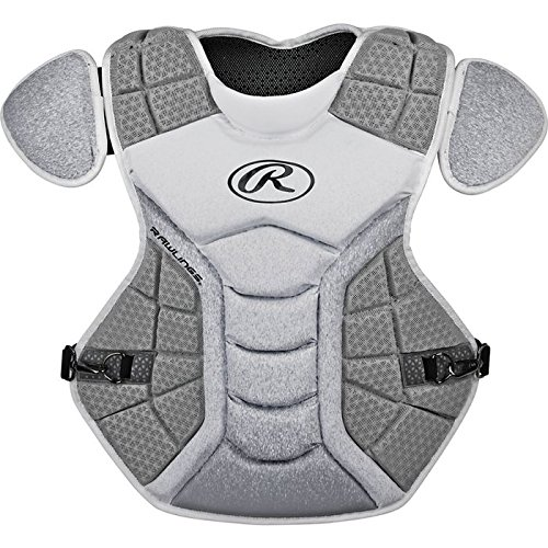 - Rawlings Sporting Goods Catchers Velo Series Intermediate Chest Protector, 15.5