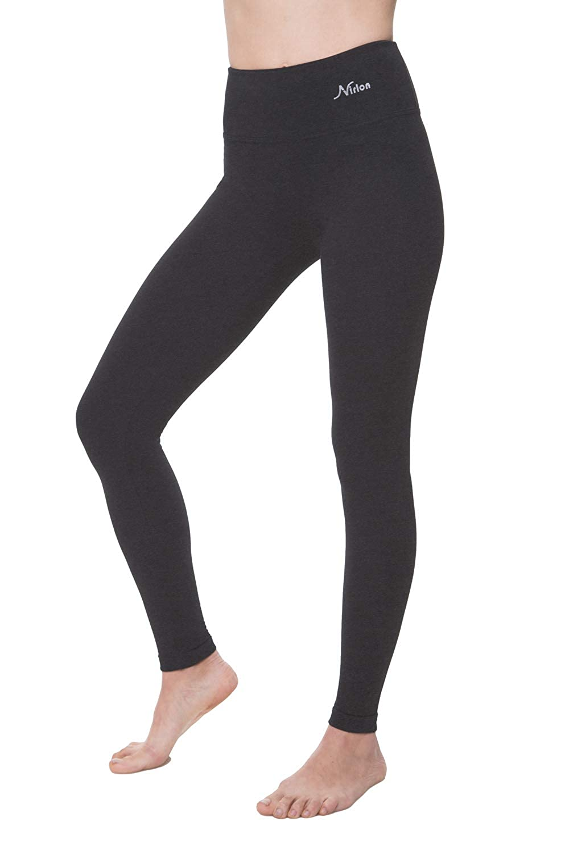 NIRLON Leggings for Women High Waist Tummy Control Workout Yoga Pants Ankle Length Regular /& Plus Size