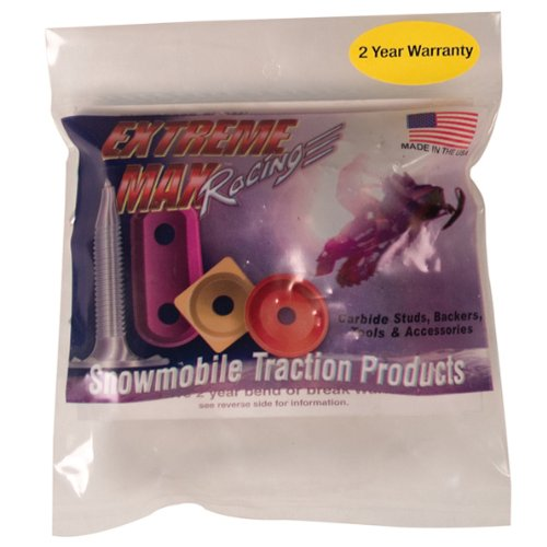 Extreme Max 5001.5391 Stainless Steel Platinum Plus Snowmobile Studs - 1.625'' Length, Pack of 24 by Extreme Max (Image #4)